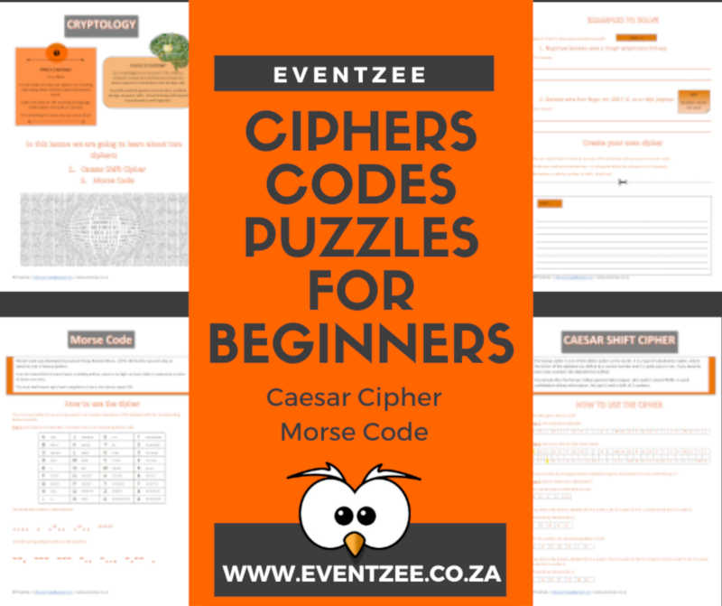 Ciphers, Codes and Puzzles - Beginners