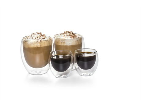 Unique Gifts and Clothing - Crema Coffee Set x4