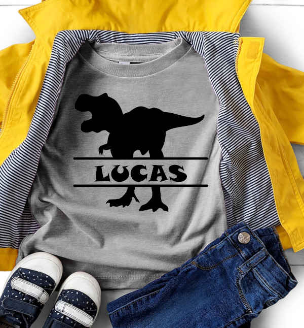 Personalized Dino T-Rex Tee
