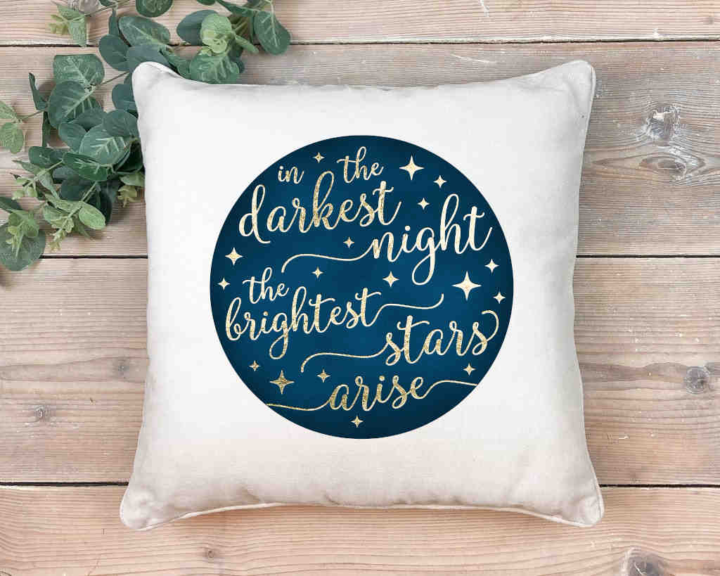 Brightest Star Scatter Cushion