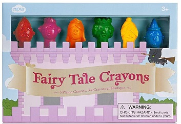 Fairytale Crayons for Girls