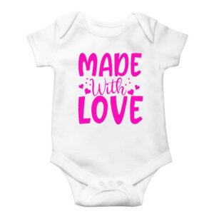 Made With Love Onesie