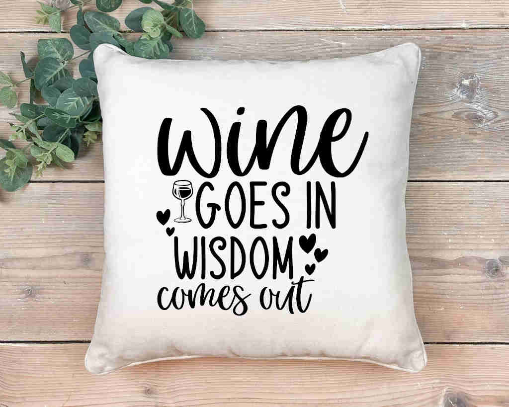 Wine In Wisdom Out