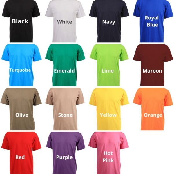 Relaxed T-Shirt Colours