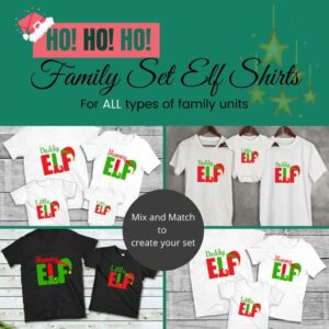 Elf Christmas Family Set