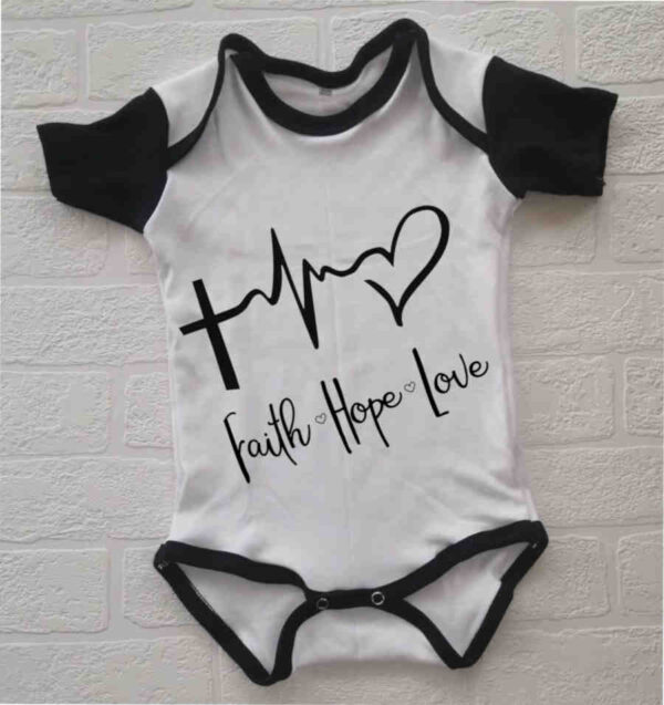 Faith Hope Love Onesies