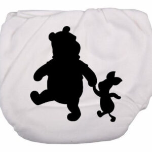 Winnie and Piglet Silhouette