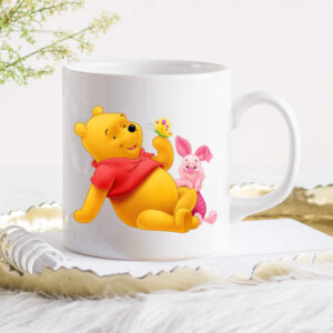 Winnie and Piglet Smallest Things Coffee Cup Image