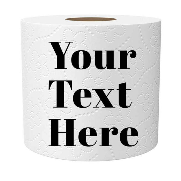 Personalized Toilet Paper