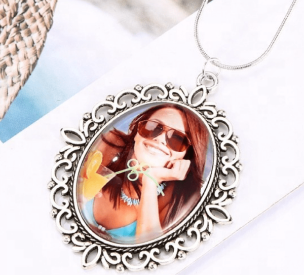 Personalized Oval Necklace